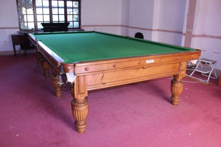 second hand 12 ft snooker table by George Wright