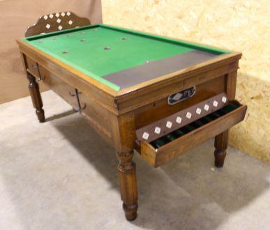 (M1005) Oak Bar Billiard Table