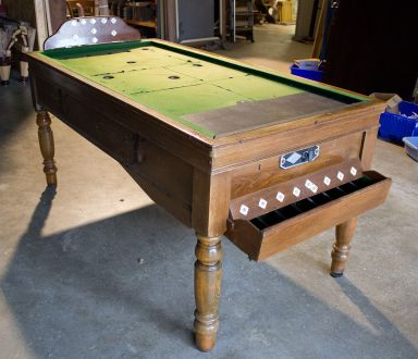M1064 Oak Bar Billiard Table by Jelks