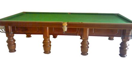 10 ft snooker table