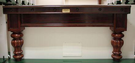 full size mahogany snooker table