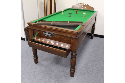 (M1220) Oak Bar Billiard Table