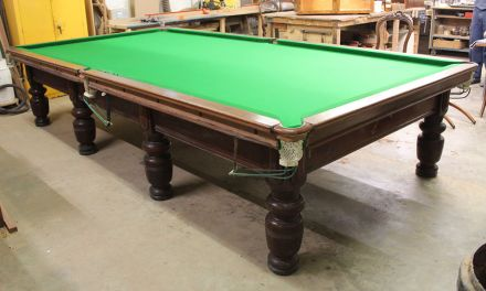 full-size snooker table