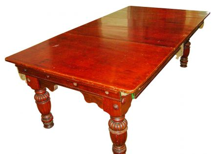 (M810) 7ft Mahogany Snooker/Pool Diner by Ascot & Ascot