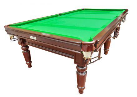(M900) 9 ft Mahogany Snooker/Pool Table by Hamiltons
