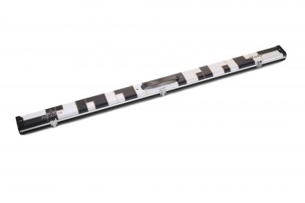 Halo Black & White Patchwork Case for 3/4 cue & extension