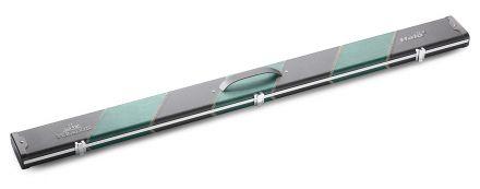 Three Quarter Black & Green Stripes Halo Plus Case