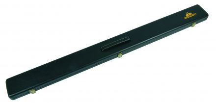Black Leather Look Case for three quarter jointed cue