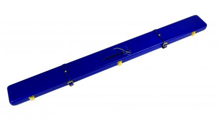 Blue Leather Case for 3/4 Jointed Cues