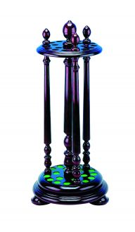 Revolving Cue Rack Holds 18 Cues