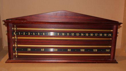SB246 2 Player Repro Riley Mahogany Board