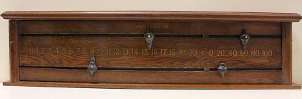 (SB248) 2 Player Oak Board