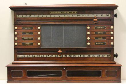 (SB254) Mahogany Lifepool Scoreboard