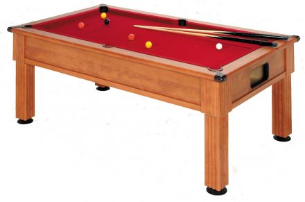 slimline prince pool table