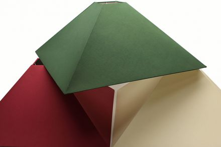 Choice of colours available for handmade snooker lampshades