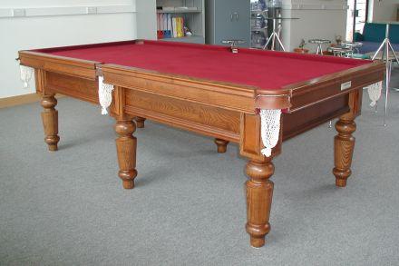 (M1178) 8 ft Watler Ash Turned Leg Table by Hamiltons