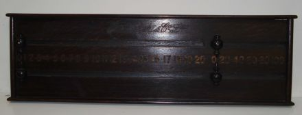 Oak marker board by George Wright