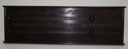 Oak marker board by George Wright