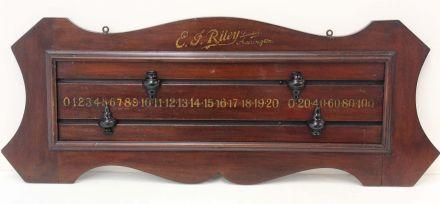 Mahogany Riley Scoreboard