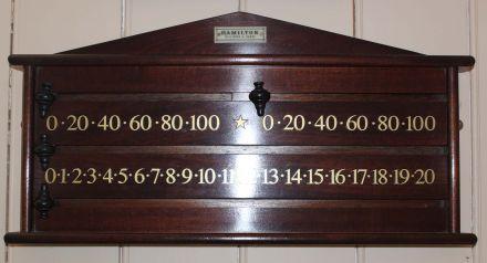 mahogany marker board