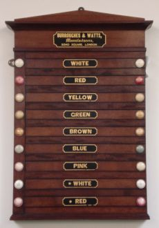 Burroughes & Watts Lifepool Board