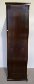 mahogany snooker leaf cabinet
