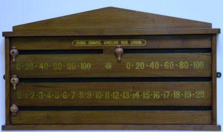 Mahogany Marker Board by George Edwards
