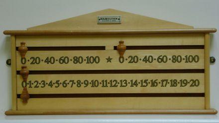Maple Snooker Scoreboard