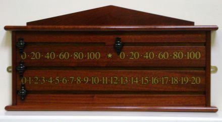 2 player scoreboard