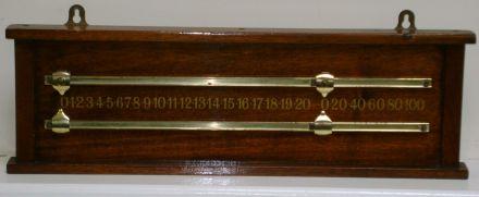 mahogany markerboard