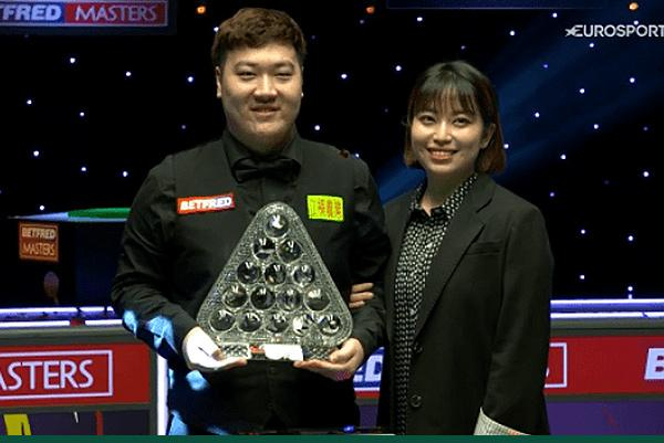 Yan Bingtao beats John Higgins in Masters final
