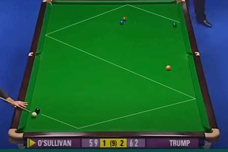 The best snooker shots of all time
