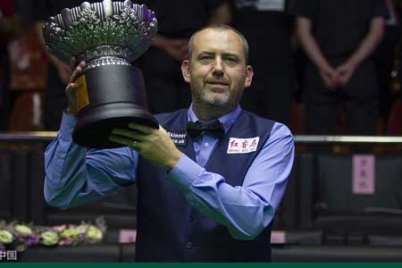 Mark Williams clinches 2018 China Open title