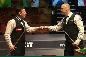 David Lilley de-crowns Jimmy White in World Seniors Snooker Championship final