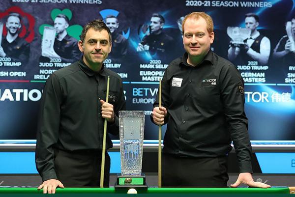 Jordan Brown defeats Ronnie O'Sullivan in Welsh Open final