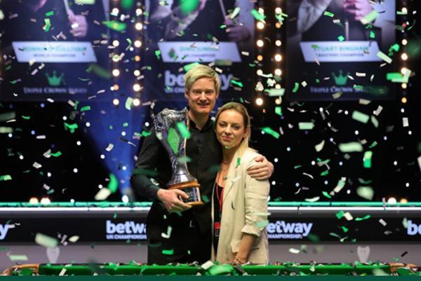 Neil Robertson wins third UK Championship title
