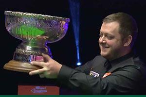 Mark Allen is victorious in the Champion of Champions