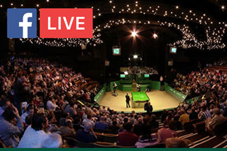 Facebook Live streams World Snooker Championship at the Crucible
