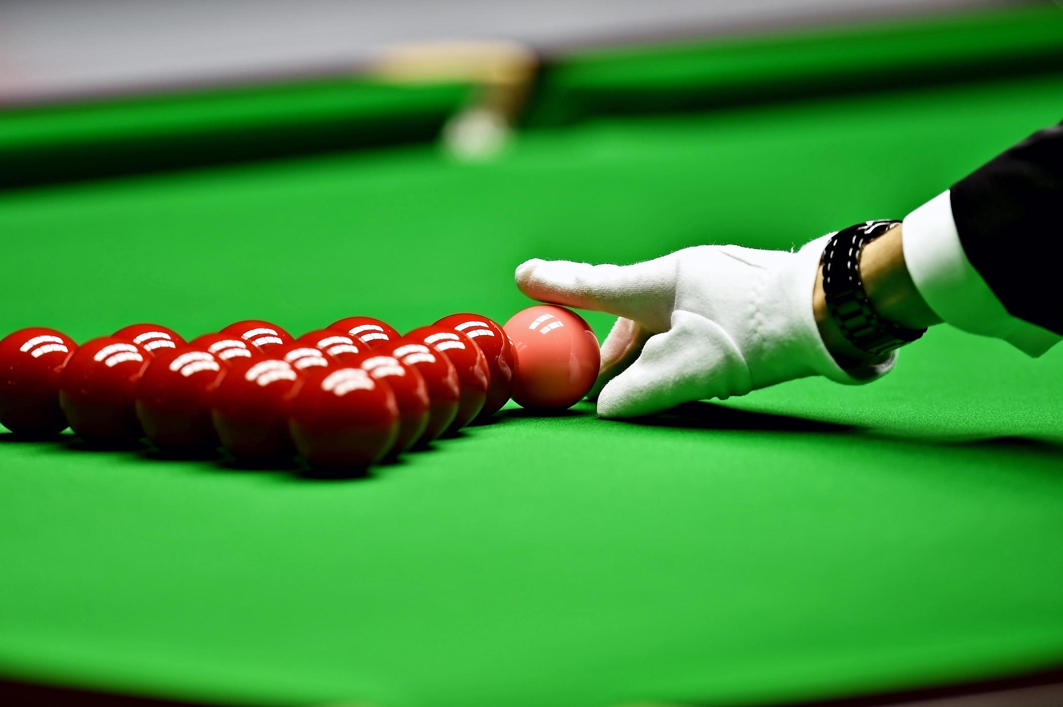 Snooker in September