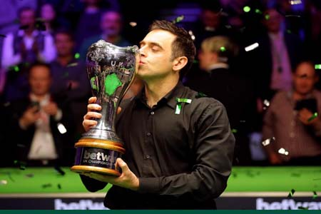 Record-breaking UK Championship win for 'The Rocket'