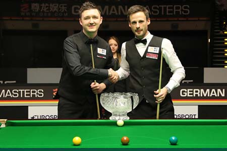 Kyren Wilson's impressive fightback against David Gilbert in the German Masters final