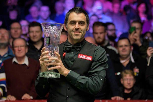 Ronnie O'Sullivan won last year's Player Championship