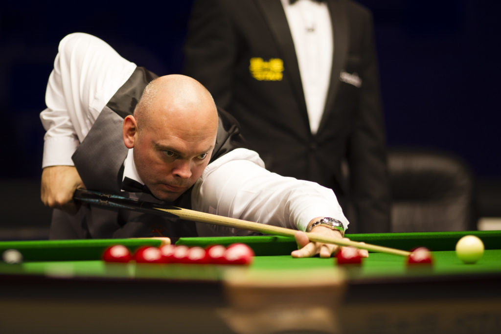 Stuart Bingham aiming for glory during his 4-1 Gibraltar Open final victory over Ryan Day.