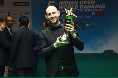 Matthew Selt wins first ranking title after lifting the 2019 Indian Open