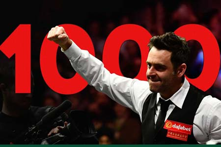 Ronnie O'Sullivan's road to 1000 centuries – historic moments