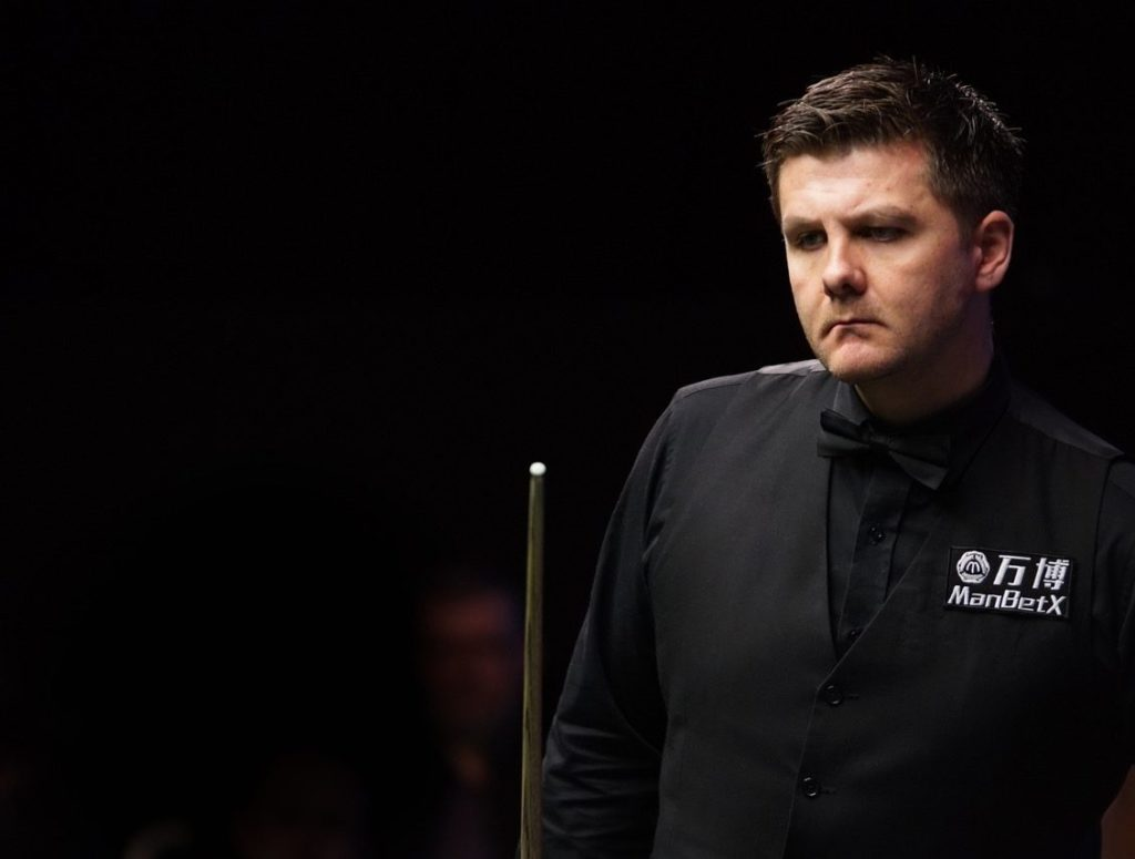 Ryan Day looks on during his 4-1 Gibraltar Open final defeat to Stuart Bingham.