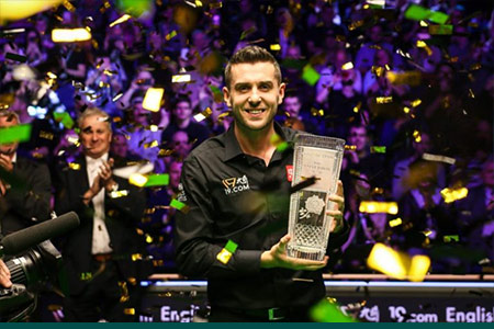Mark Selby defeats David Gilbert 9-1 in English Open final