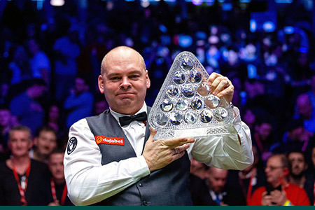 Stuart Bingham defeats Ali Carter and wins 2020 Masters title