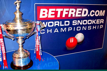 World snooker championship rescheduled for July
