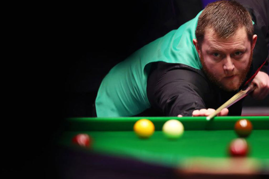 Mark Allen Is Victorious In The Champion Of Champions Hamilton Billiards Snooker Blog - How To Mark Out A Pool Table